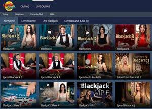Luckland live Casino