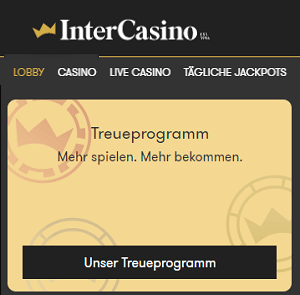 Intercasino Bonusprogramm