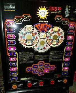 Geldspielautomat Merkur Disc