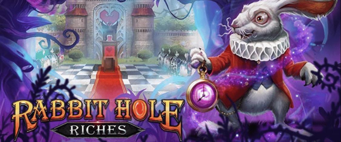 Rabbit Hole Riches Play'n Go Spielautomat
