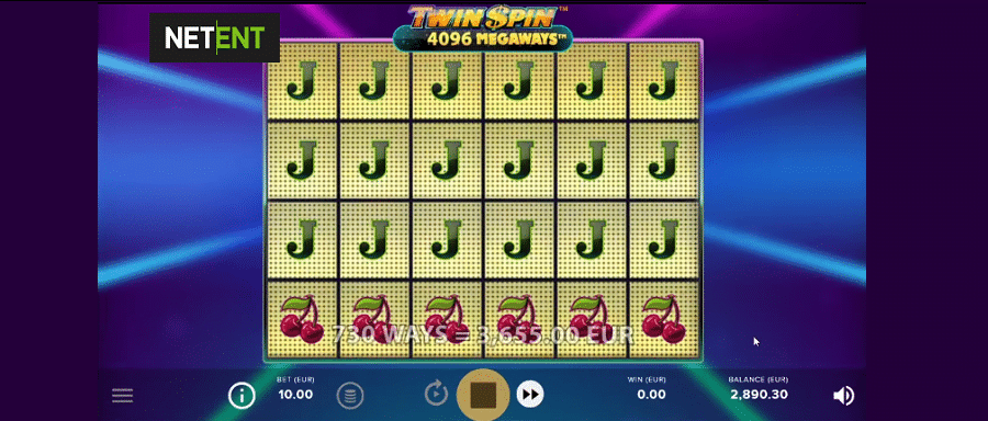 Twin Spin Megaways Netent Spielautomat