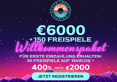 Ocean Breeze Casino Bonus