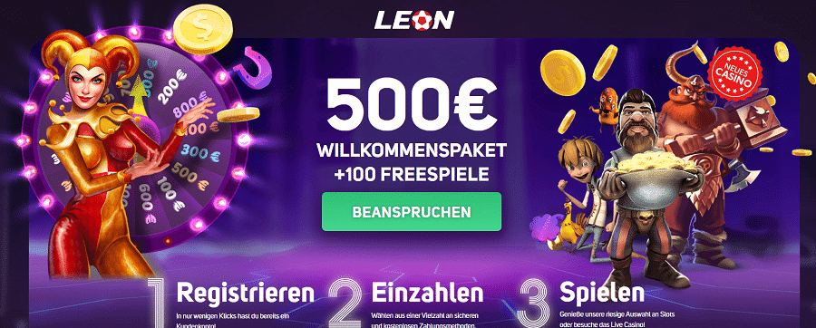 Leon Casino Willkommensbonus