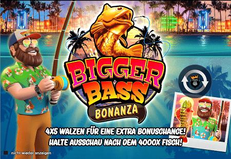 Bigger Bass Bonanza Spielautomat